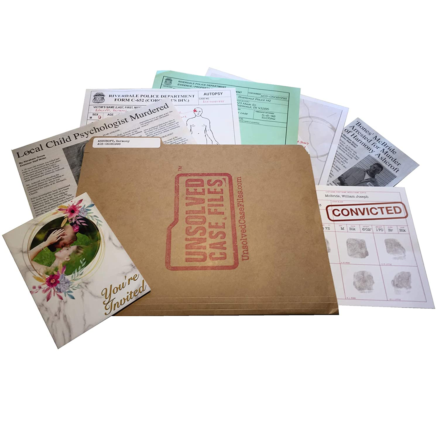 UNSOLVED CASE FILES | Ashcroft, Harmony - Cold Case Murder Mystery Game |  Can You Solve The Crime?