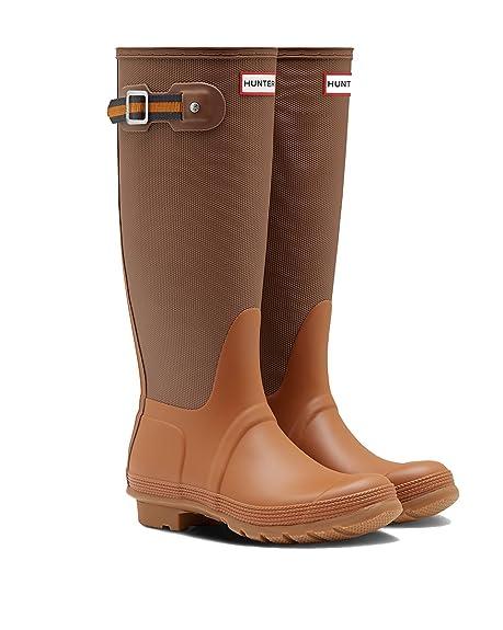 1e350d7a8 Hunter Women's Original Sissinghurst Tall Rain Boots (10 M US, Soil/Red Clay