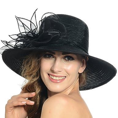 8f0cb1d4a5a9e HISSHE Lightweight Kentucky Derby Church Dress Wedding Hat  S052 ...