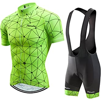 dd2197ab6  15 PHTXOLUE Men s Cycling Jersey Set Bicycle Short Sleeve Set Quick-Dry  Breathable Shirt+3D