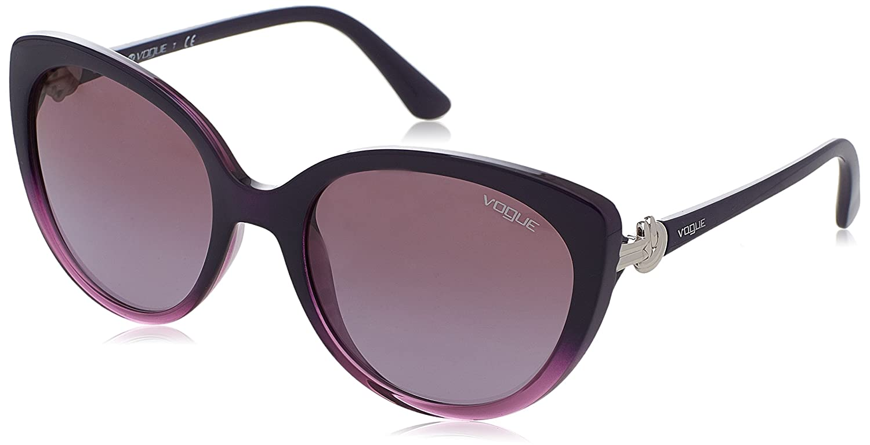 Amazon.com: Vogue Mujer inyectado mujer anteojos de sol 0 ...