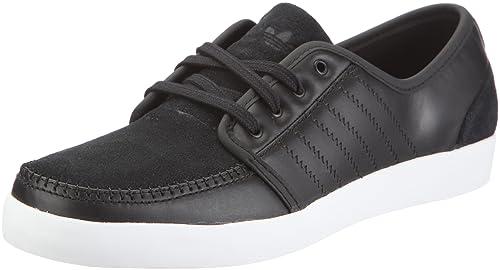 adidas Men's Boat Shoes Black Black: Amazon.co.uk: Shoes & Bags