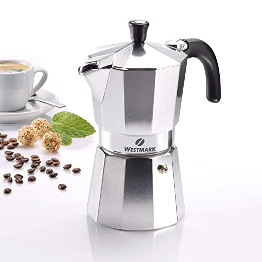 Westmark 24622260 Brasilia - Cafetera italiana (6 tazas, aluminio ...