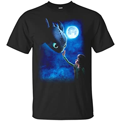 1117939a6 How to Train Your Dragon Toothless Night Fury T-Shirt (Unisex T-Shirt