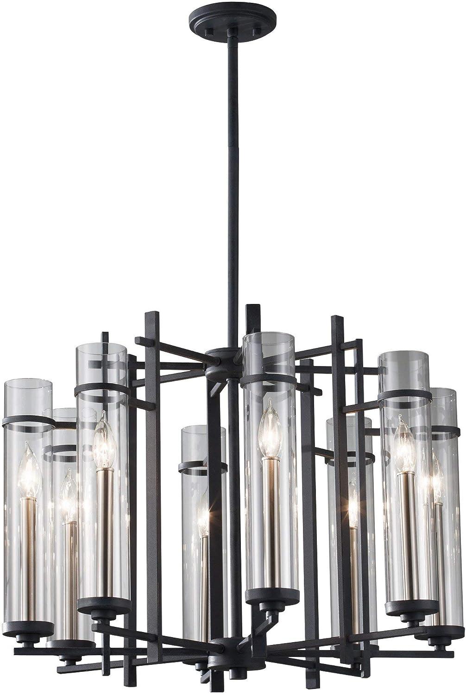 Amazon.com: Feiss f2628/8 Ethan Ocho luz 1 Tier – Lámpara de ...