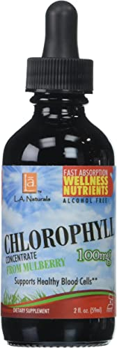 L A NATURALS Chlorophyll 100mg, 0.02 Pound