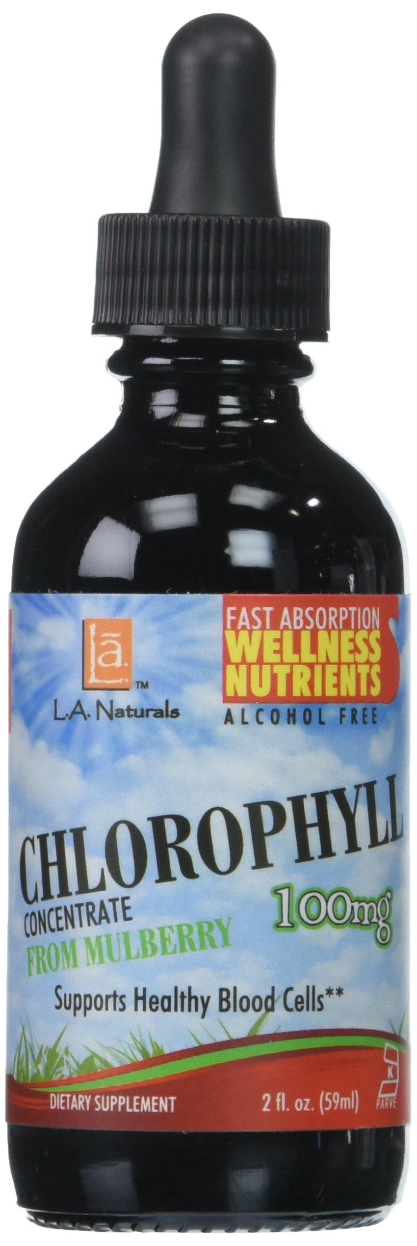 L A NATURALS Chlorophyll 100mg, 0.02 Pound