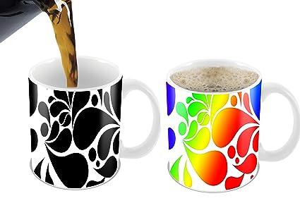 ebc45f5505d Amazon.com   Cortunex. Morning Coffee Mug. 11 Ounce. Changing Color ...