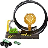Hot Wheels GKY00 Monster Trucks Epic Loop Challenge Play Set Includes Monster Truck and 1:64 Scale car ages 3 and older