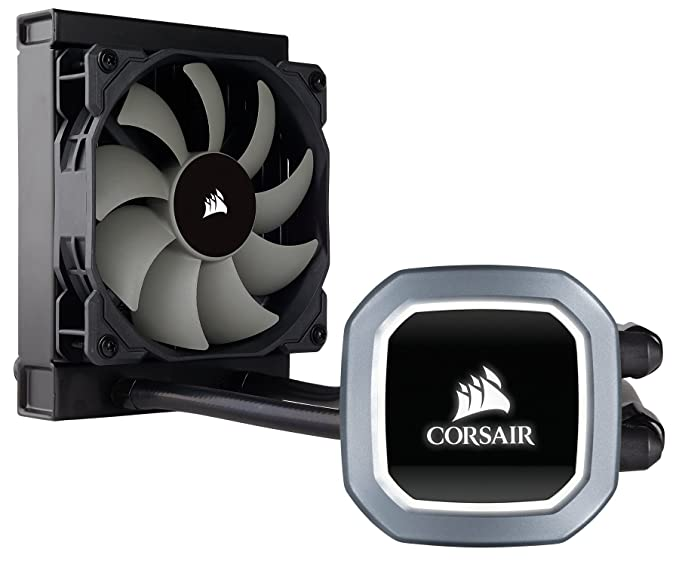 Corsair Hydro Series H60 120mm Radiator Single PWM Fan Liquid CPU Cooler (CW 9060036 WW) Water Cooling Systems at amazon