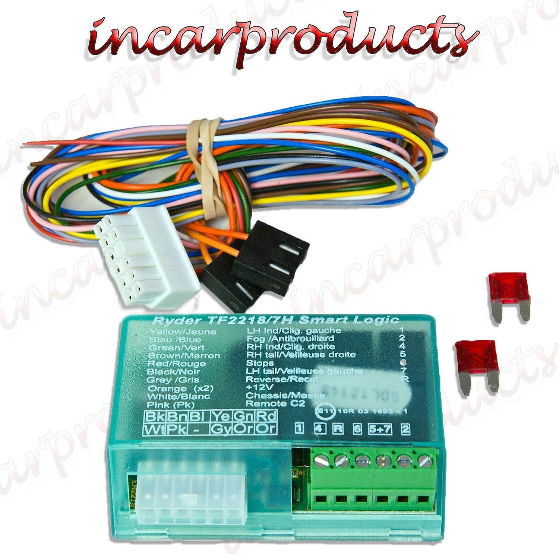 Universal 7 Way Elektrische Überbrückungsrelais Für Elektronik