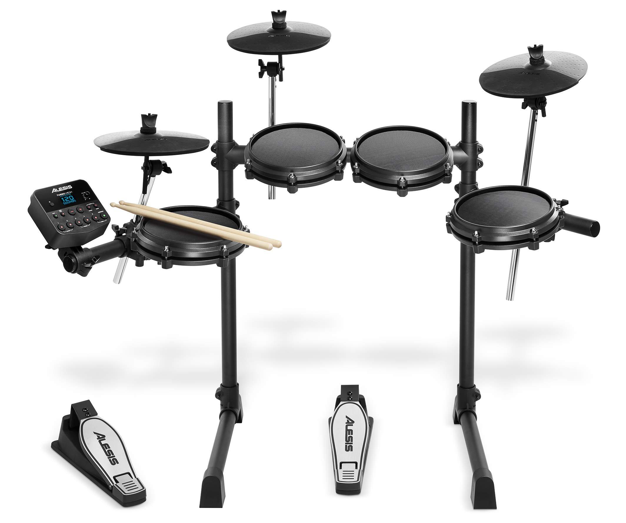 Alesis 電子ドラム 8インチ・メッシュヘッド採用ドラムパッド 10インチ・シンバル Turbo Mesh Kit