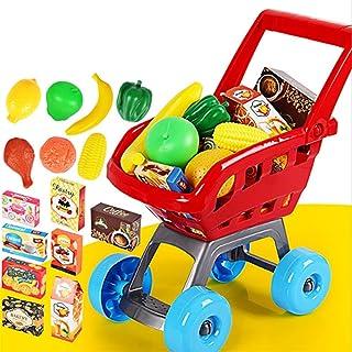 Mini carrello per la spesa, giocattolo educativo per bambini, carrello per la spesa, giocattolo per supermercato