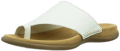 Gabor Shoes Damen Fashion Pantoletten, Weiß (Weiss), 42 EU