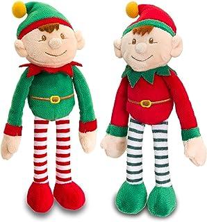 Keel Toys Dangly Christmas Elf 12cm .