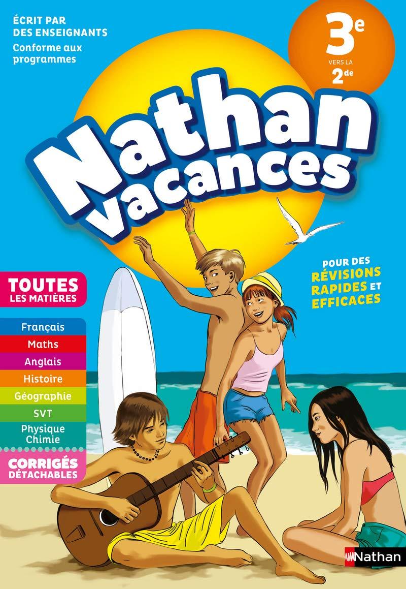 Amazon Fr Cahier De Vacances 2019 De La 3eme Vers La 2nde
