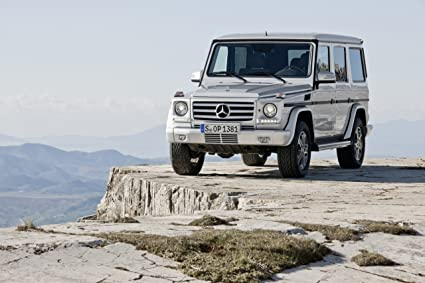 Superb Mercedes Benz G Class (2013) Car Poster Print On 10 Mil Archival