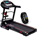 XR 680 Foldable Treadmill for Small Spaces – for Beginners & Professional Runners – 3.0 Motor Power – 3 Level Manual Incline Running Machine – Portable Motorized Fitness Machine by Norflex