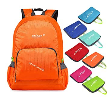 2b04127558b5 Utizar Lightweight Folding Backpack Gym Bag Foldable Day Backpack Outdoor  Bag Travelling Backpack Camping Sports Backpack Shopping Ultra-Light ...