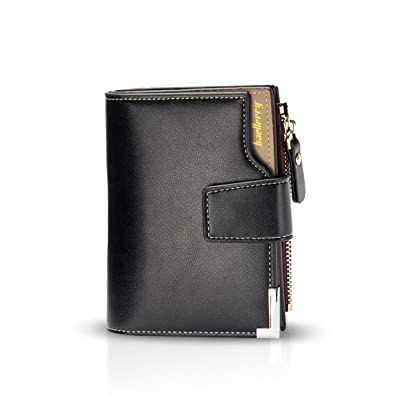 a9fe722dbed3 FANDARE 三つ折り財布 コンパクト がま口 小さい財布 マネークリップ ブランド 小銭入れ ミニウォレット メンズ wallet