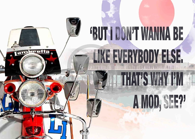 Quadrophenia The Who Lambretta Vespa Art Print Photo Picture Poster A3 A4