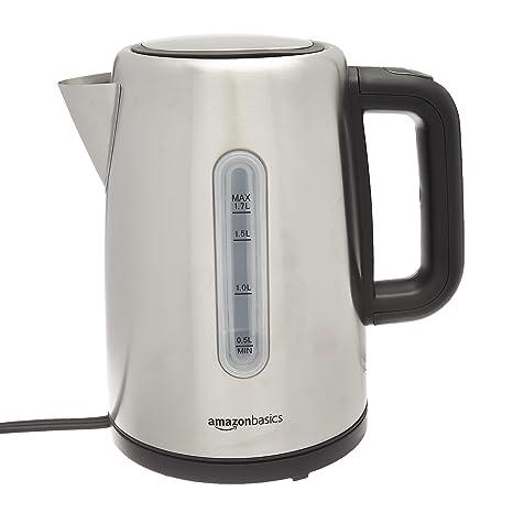 Amazon.com: AmazonBasics - Hervidor de agua caliente ...