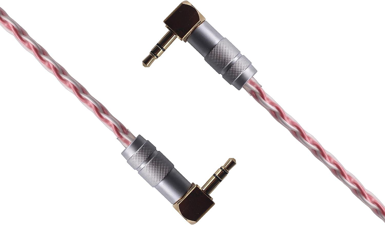 oy-fu HiFi Profesional Cable de Audio estéreo Cable Auxiliar de 3 ...