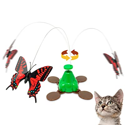 Pet Zone Fly By Spinner Butterfly Cat Toy