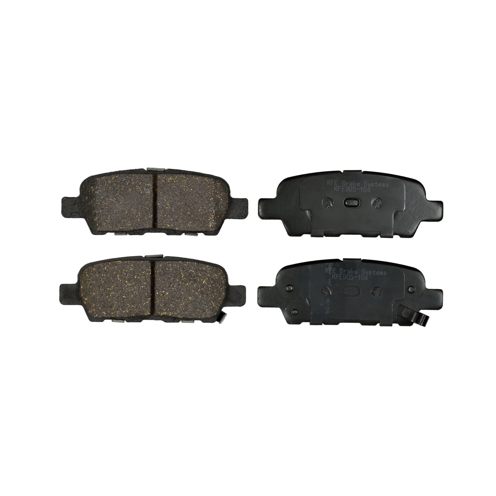 KFE Ultra Quiet Advanced KFE905-104 Premium Ceramic REAR Brake Pad Set