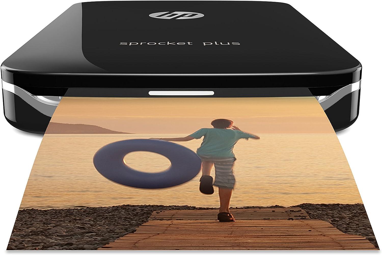 Hp Sprocket Plus Mobiler Fotodrucker Schwarz Computer Zubehör
