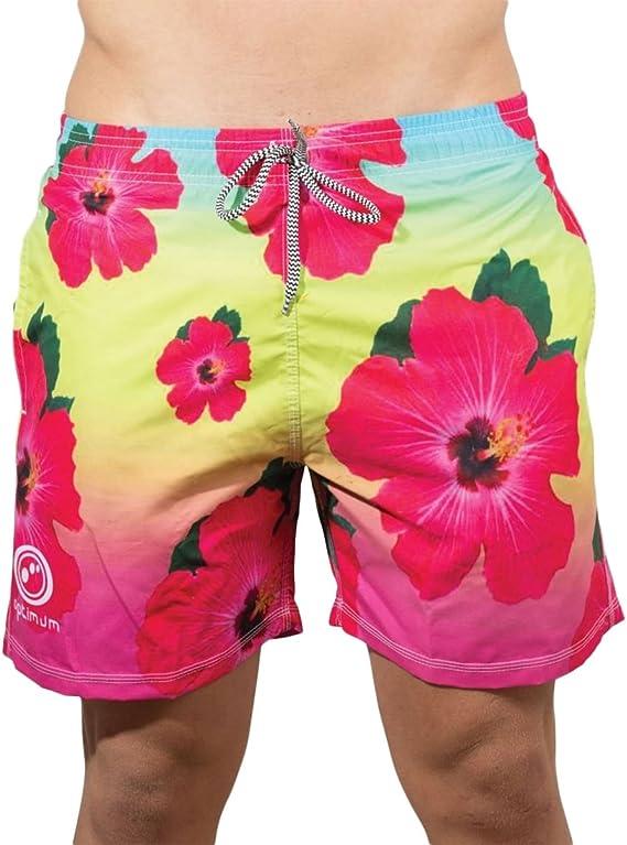 TALLA XS. OPTIMUM–Chaqueta de beachbums Aloha Bañador–Multicolor