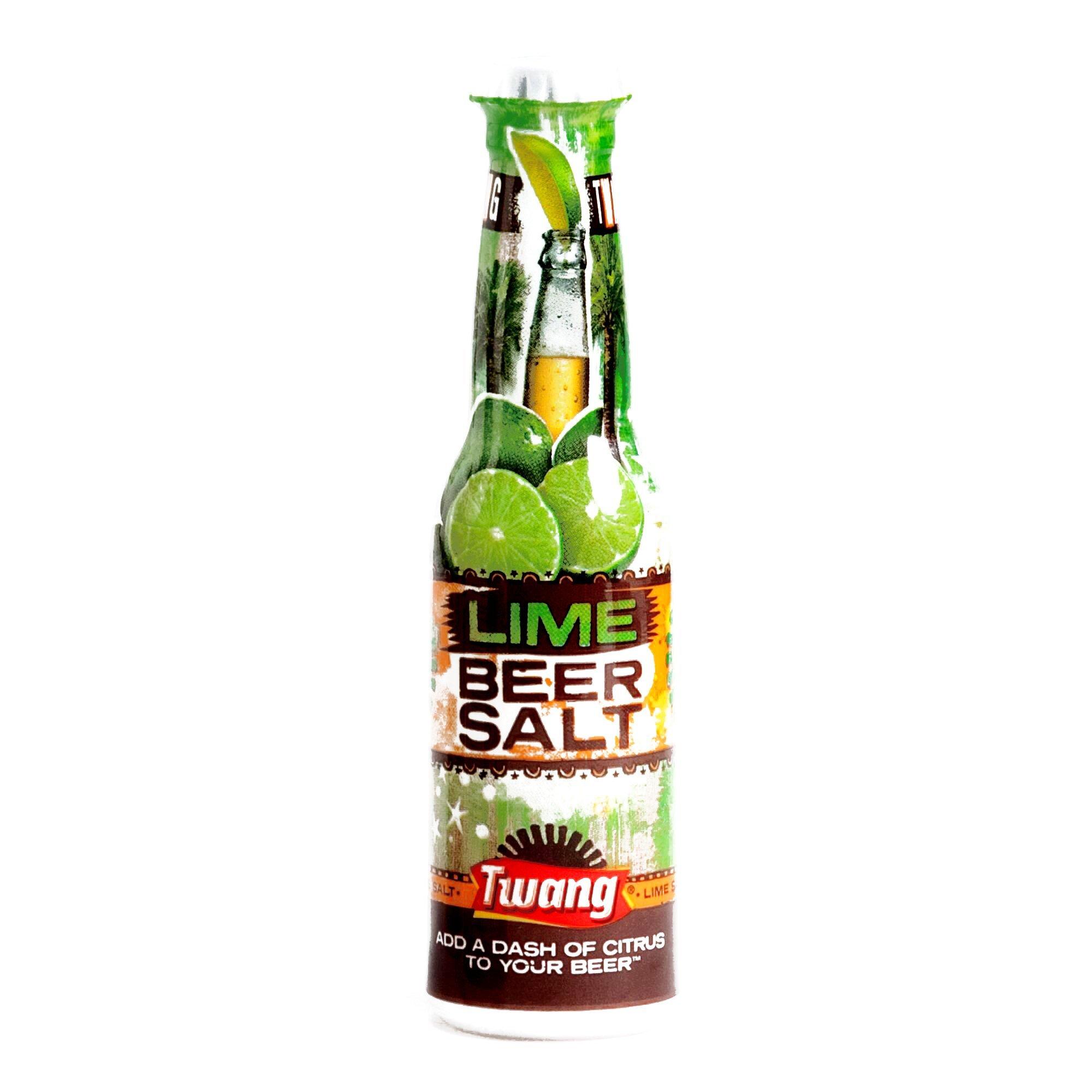 Twang Lime Beer Salt 1.4 oz each (1 Item Per Order)