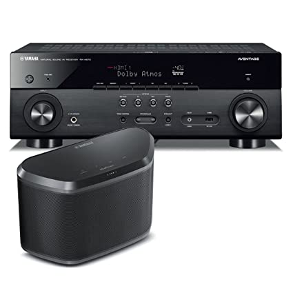 Yamaha RX-A670 7 2 Channel AVENTAGE Network AV Receiver with
