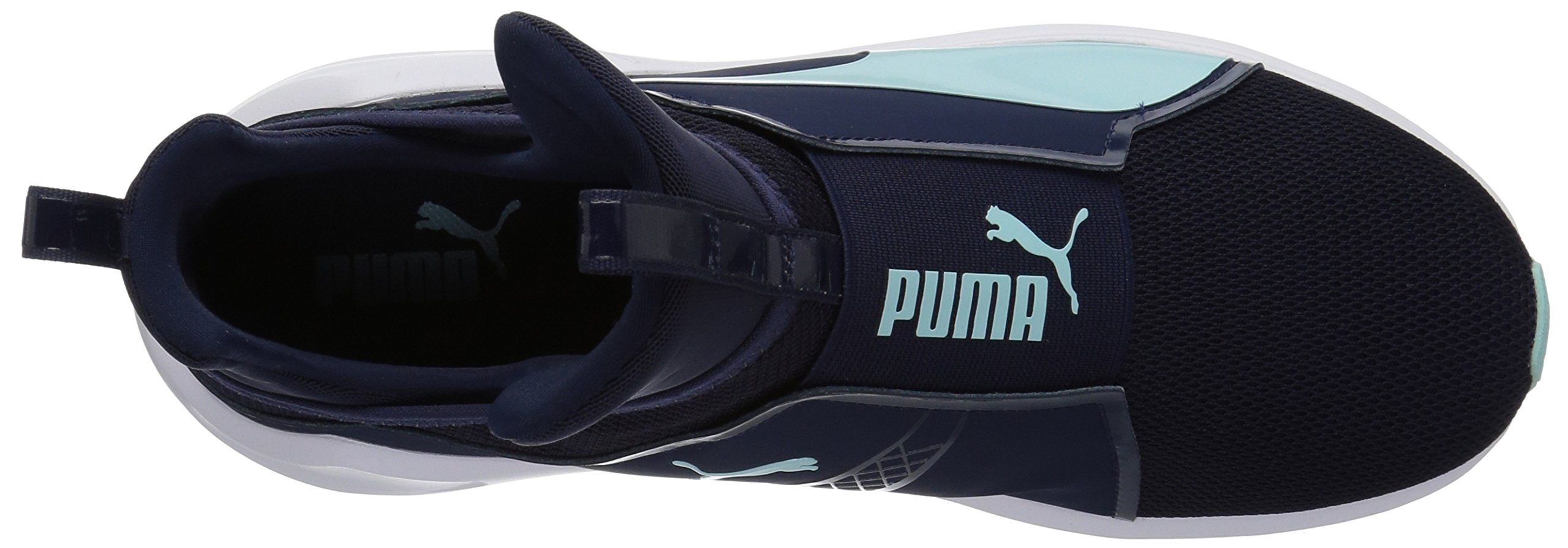 PUMA Women's Fierce Core Sneaker, Peacoat-Island Paradise, 9 M US by PUMA (Image #8)