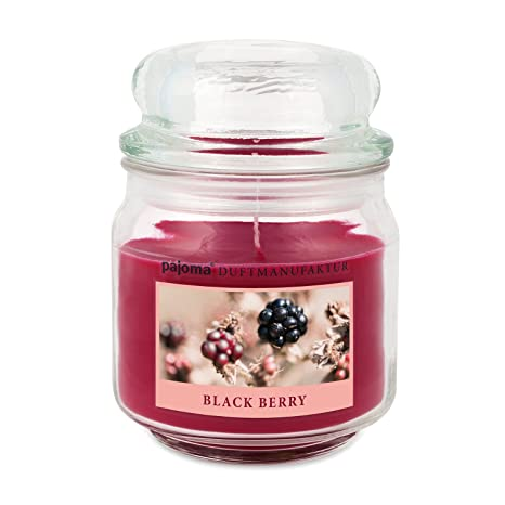 Bougie Pajoma Berry En Verre De Black Parfumée 248 G Bonbon CBWroxde
