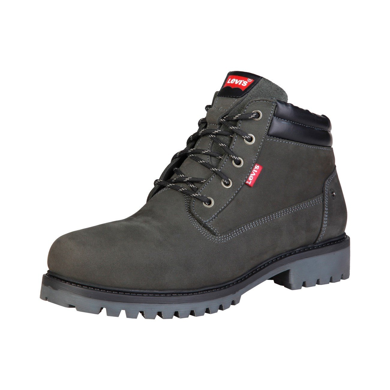 Levis Mens Lace Up Elasticated Lace Up Ankle Boots: Amazon.co.uk: Shoes &  Bags