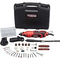 TEENO Mini Amoladora eléctrica Profesional Kit de herramientas