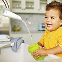 Serlife 2 Piece Faucet Extenders Steering Adjustment Baby Hand Washing Sink Safety for Babies Kids