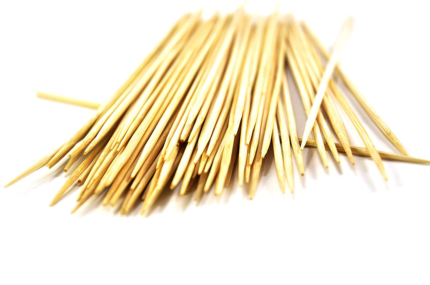 Bamboo marshmallow roasting sticks 100 pcs for serving appetizers cocktail parties hors doeuvres snacks fruit /& shish kabob starters meat skewers vegetables and crafts 10 inches 3 mm 103013