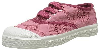 Bensimon Tennis Lacet Broderie Anglaise, Zapatillas para Niñas, Rosa (Rose), 33 EU: Amazon.es: Zapatos y complementos