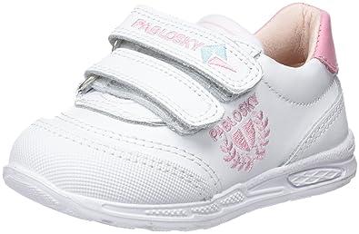 Pablosky Mädchen 267807 Sneakers, Elfenbein (Blanco 267807), 34 EU