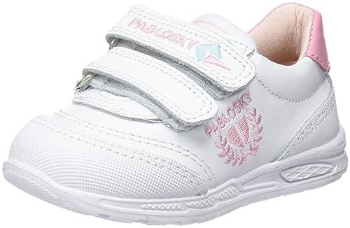 Pablosky 268007, Zapatillas para Niñas, Blanco, 24 EU