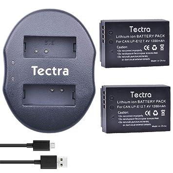 3x Batería para Canon EOS M50//LP-E12