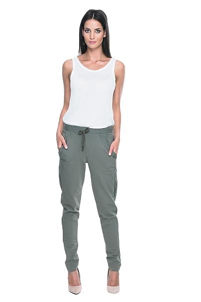 MOS Elegante Pantalones de mujer Traje Para Trabajar Para La Oficina  Pantalones de Negocios Elásticos Largos 66e6210d61be