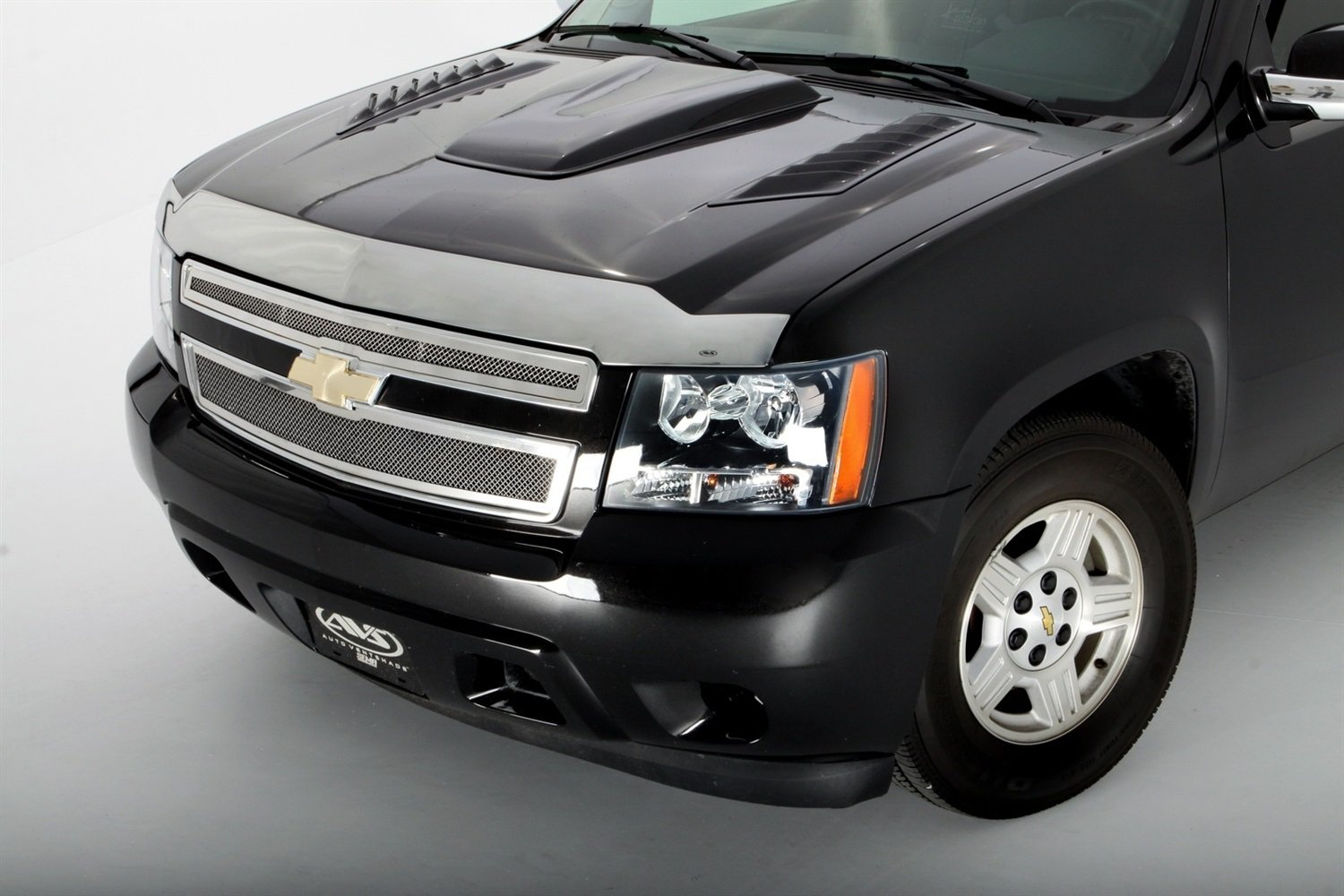 Avalanche 2007 chevy avalanche owners manual pdf : Amazon.com: Auto Ventshade 622011 Aeroskin Large Chrome Hood ...