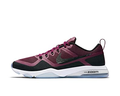 new product 30df5 0002a Nike , Baskets Mode pour Femme - Violet - Bordeaux Black, 22,5