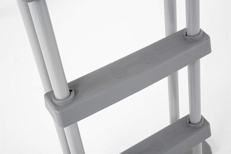 Bestway 58331 - Escalera para Piscina Desmontable 122 cm: Amazon ...