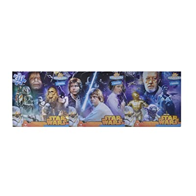 Star Wars Original Trilogy 3 in 1 Panoramic Puzzle Set 211 Total Pieces: Toys & Games