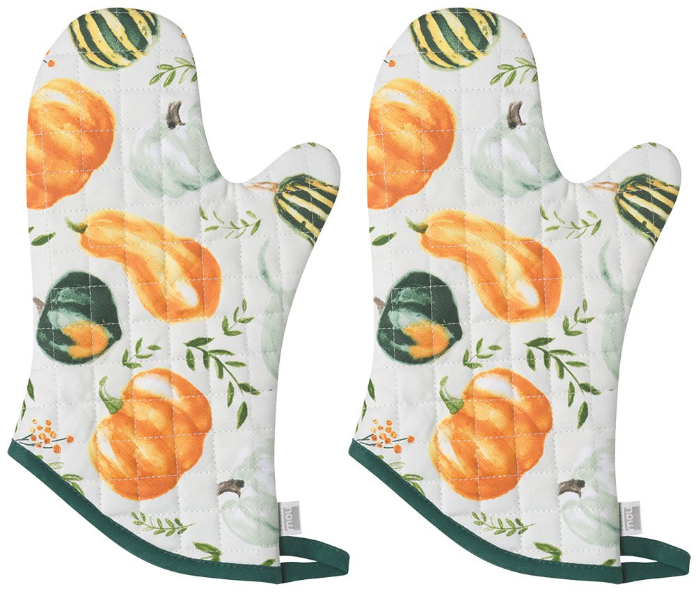 Now Designs Basic Oven Mitt, Bounty - 6.5 x 13 in | Set of 2
