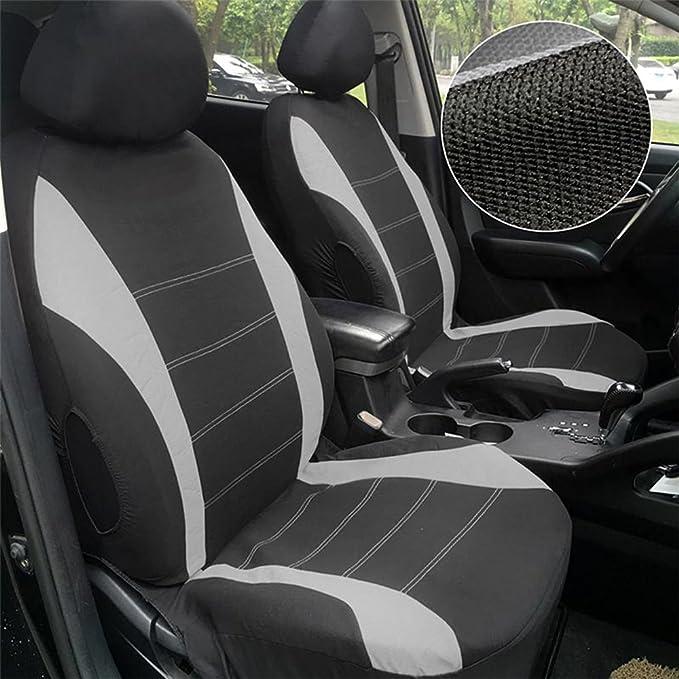 Schwarz Sitzbez/üge Wasserdicht Protector Set Suzuki Vitara